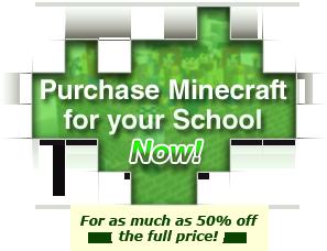 Minecraft till skolan