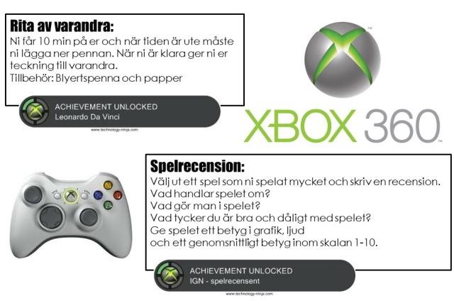 Xbox 360 achievement-schema