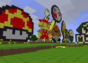 Mario i Minecraft