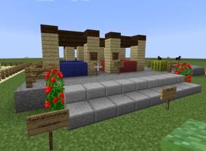 Minecraft valstugor marknad